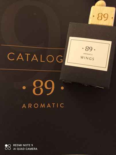 Aromatic 89 Wings carfreshner