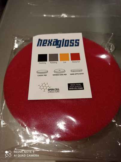 Hexagloss heavy cut pad
