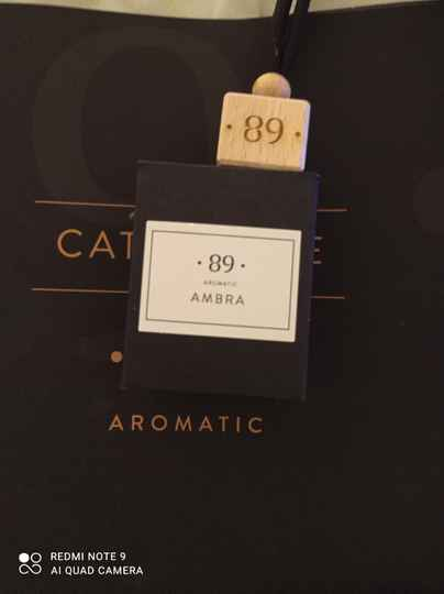 Aromatic 89 ambra carfreshner