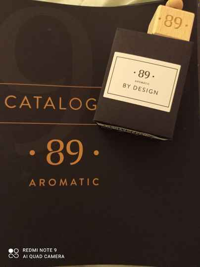 Aromatic 89 by design carfreshner