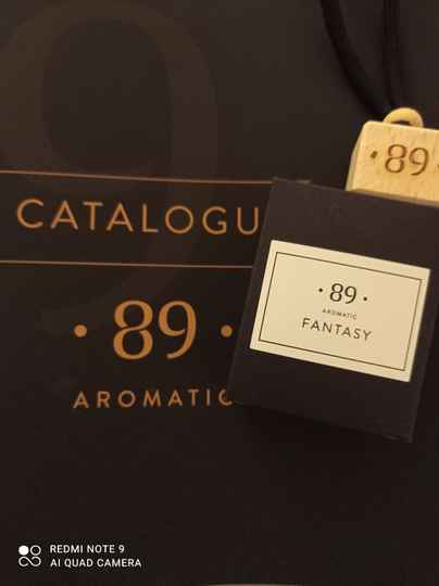 Aromatic 89 fantasy carfreshner