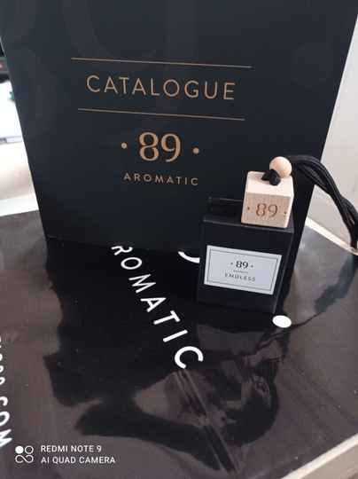 Aromatic 89 endless carfreshner