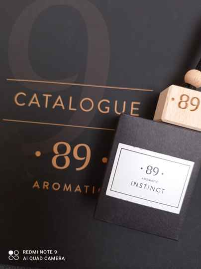 Aromatic 89 instinct carfreshner