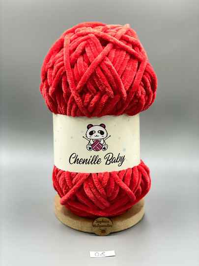 Baby Chenille 100-08 rot