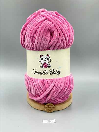Baby Chenille 100-31 pink