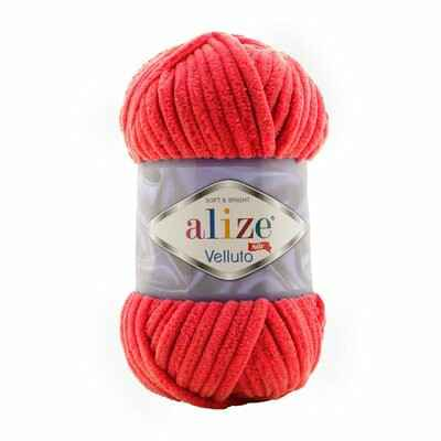 Alize Velluto 56 rot