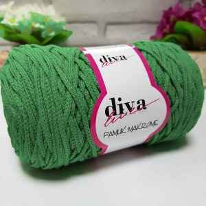 Diva Cotton Makrome 11 grün