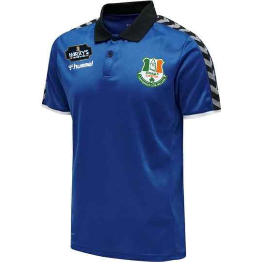 Adult Hummel Emerald Everton Polo available in Blue or White