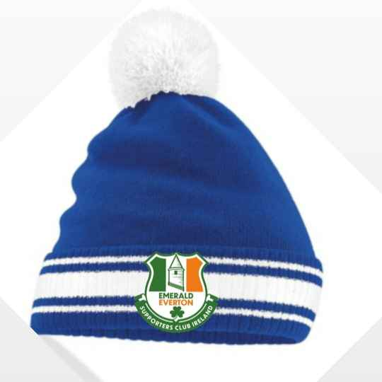 Emerald Everton Bobble Hat (Postage included in price)