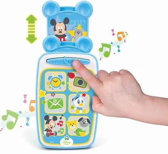 Smartphone Mickey Mouse baby Clementoni