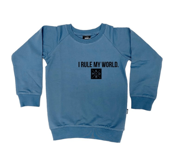 Sweater I rule my world