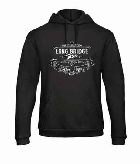 Hoodie unisex logo Long Bridge Tattoo