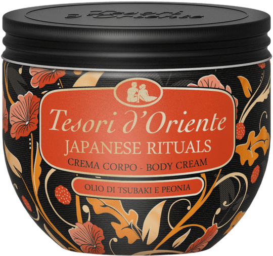 Tesori d'oriente JAPANESE RITUALS bodycream