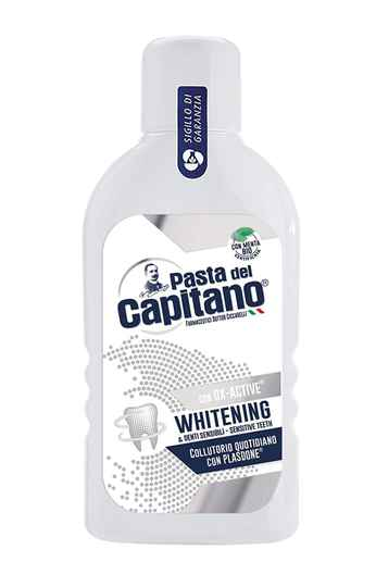 Pasta del capitano mondspoeling sensitive whitening