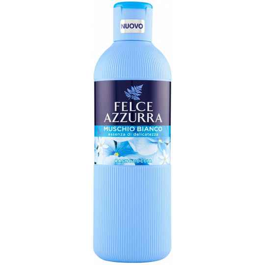 Felce Azzura  bad- en douchecreme WHITE MUSK 650ML