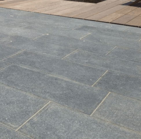 Kilkenny Limestone Paving Flamed