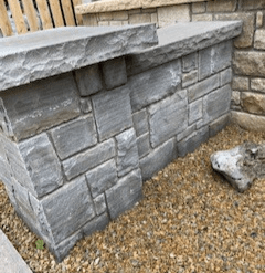 Grey Sandstone Wall Capping