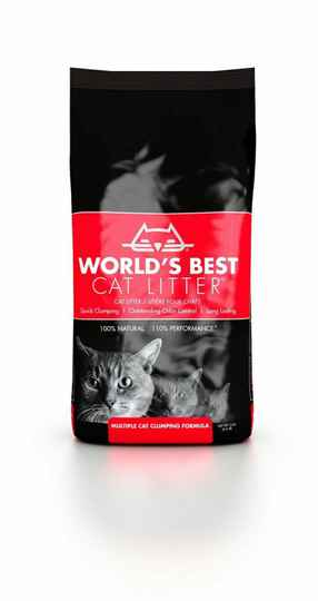 100% BIO Worlds Best Cat litter ROT