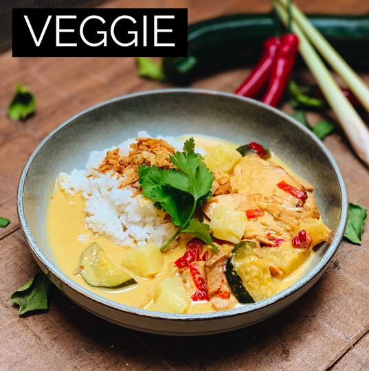 SWEET YELLOW CURRY VEGGIE - 2PERS
