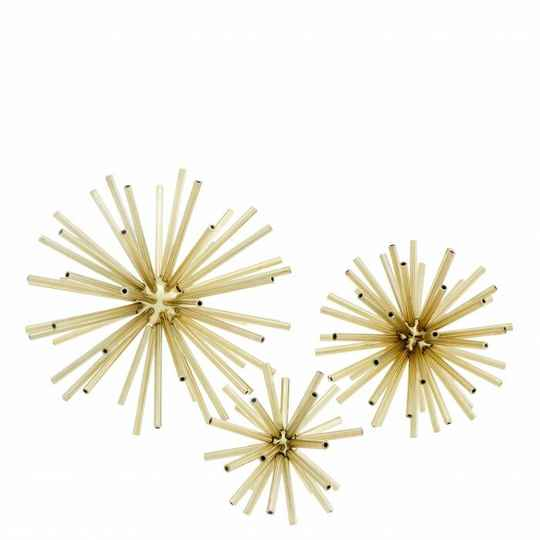 Eichholtz Meteor Set of 3 | Gold