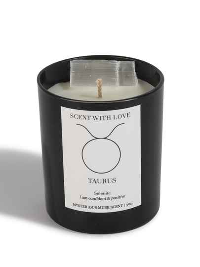 Zodiac Candle | Stier | Scent With Love