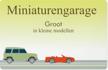 Miniaturengarage