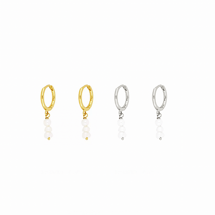 Earrings at first sight gold