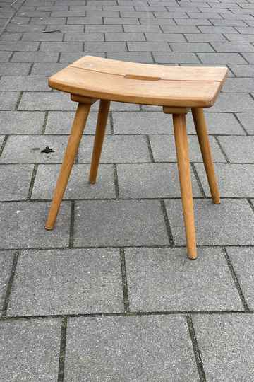 Vintage stool - Style of Jacob Muller