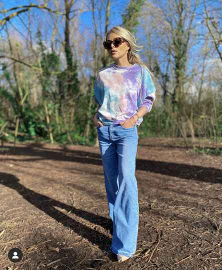 Blue Flaired Jeans