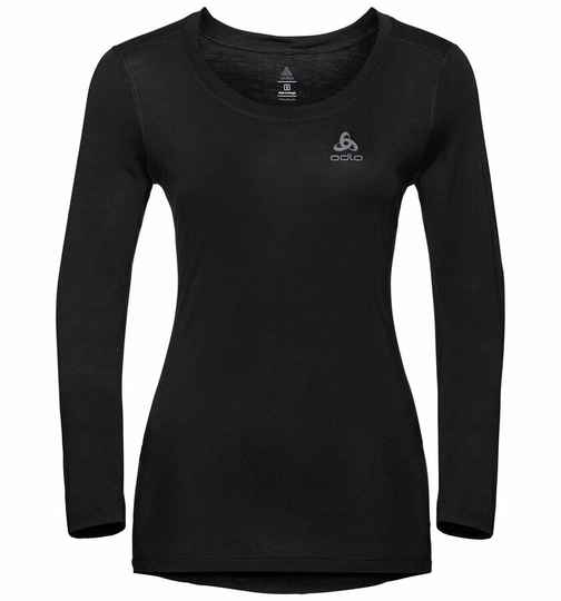 Odlo BL TOP Crew neck Dames l/s MERINO 130