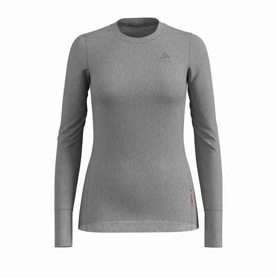 Odlo BL TOP Crew neck Dames l/s MERINO 200