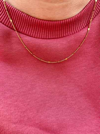 Ketting Coin Gold (RVS)