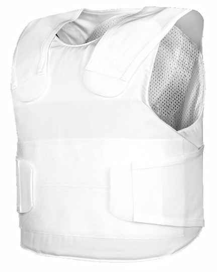 Pollux KR1-SP1 steekwerende vest wit Medium