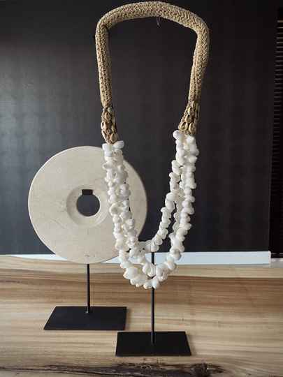Ornament schelpenketting xl