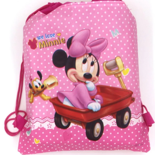 Minnie mouse kinderrugtas