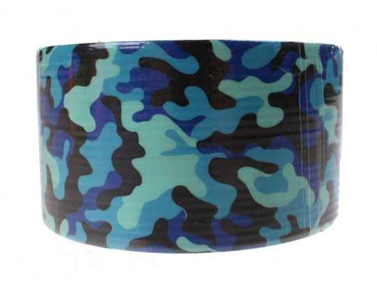 Free and Easy tape camouflage 5 meter 48 mm blauw