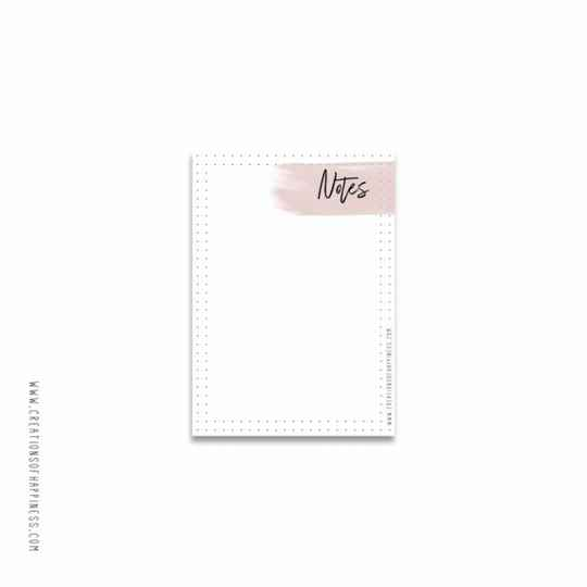 Creations of Happiness Notitieblok Notes – A6