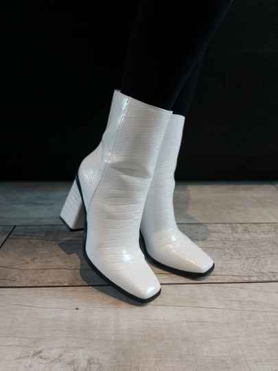 Witte Crocco Boots