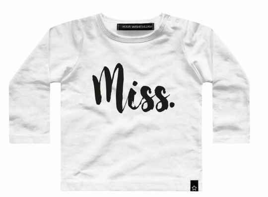Your Wishes Miss longsleeve baby