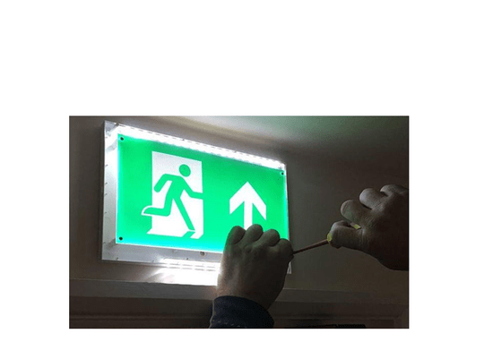 Noodverlichting controle