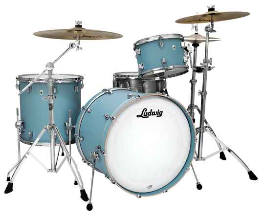 Ludwig NeuSonic Kit, Skyline Blue 20""