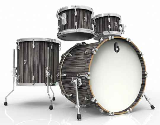 British Drum Co, Legend Fusion 22 Carnaby Slate drumset