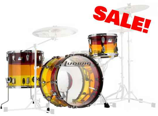 Ludwig Vistalite, Tequila Sunrise LIMITED EDITION