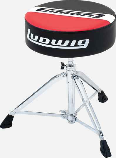 Ludwig LAP51TH Pro Drum Throne - Round.
