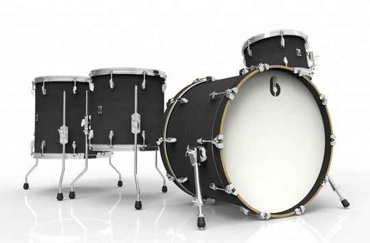British Drum Co, Legend Rock 24 Kensington Knight drumset