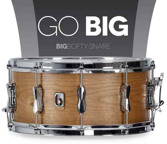 British Drum Co -  Big Softy Snare Drum