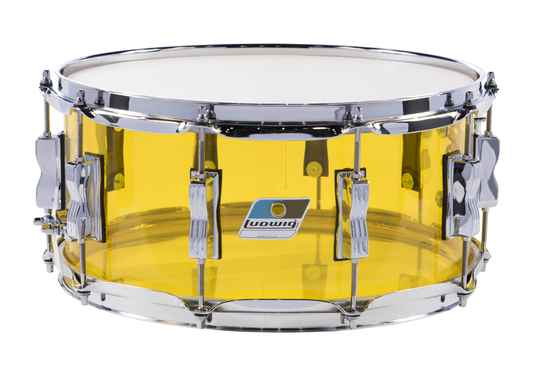 Ludwig Vistalite Snare Yellow