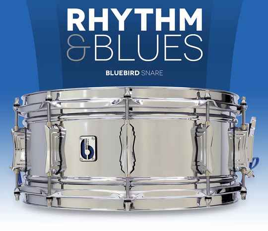 British Drum Co - Bluebird Snare Drum