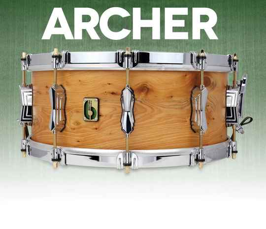 British Drum Co - Archer Snare Drum