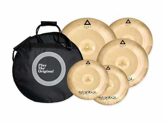 Istanbul Agop IXPS4BAG  Xist Series Cymbal Power Set 14/16/18/20